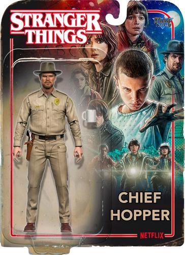 McFarlane Toys - Store Stranger Things Chief Hopper 6160315