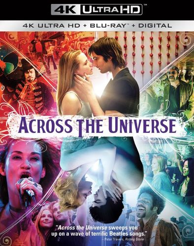 Across the Universe [4K Ultra HD Blu-ray/Blu-ray] [2007] 6162014