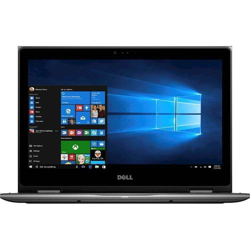 "Dell - Inspiron 2-in-1 13.3"" Touch-Screen Laptop - Intel Core i7 - 8GB Memory - 256GB Solid State Drive - Theoretical Gray"