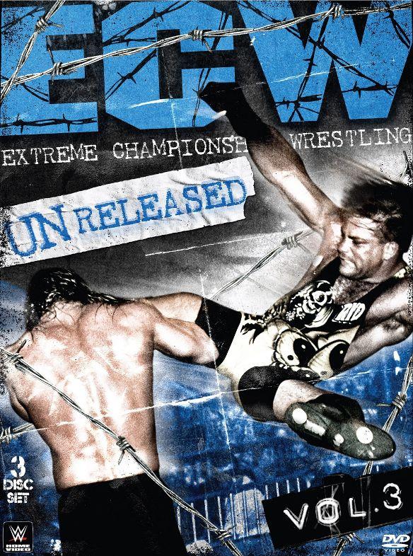 WWE: ECW Unreleased, Vol. 3 [3 Discs] [DVD] [2015] 6163177