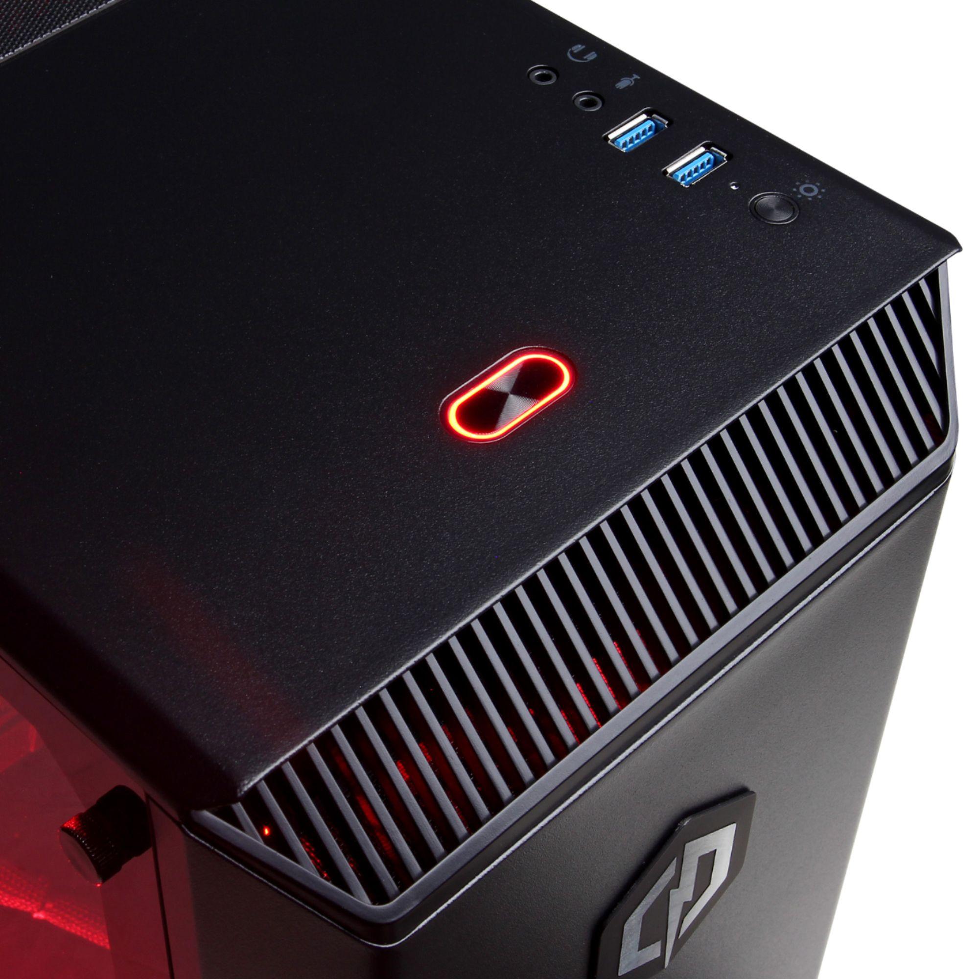 CyberPowerPC GXIVR2900BST Gamer Xtreme Desktop Intel Core i7-8700K 16GB  Memory NVIDIA GeForce GTX 1080 Ti 2TB HDD + 240GB SSD Black