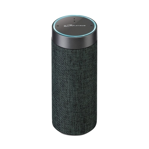iLive Voice Activated Amazon Alexa Portable Wireless Fabric Smart Speaker - Grey (ISWFV387G)