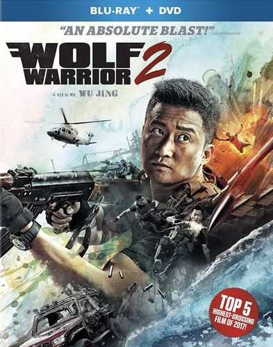 Wolf Warrior 2 [Blu-ray/DVD] [2 Discs] [2017] 6163889