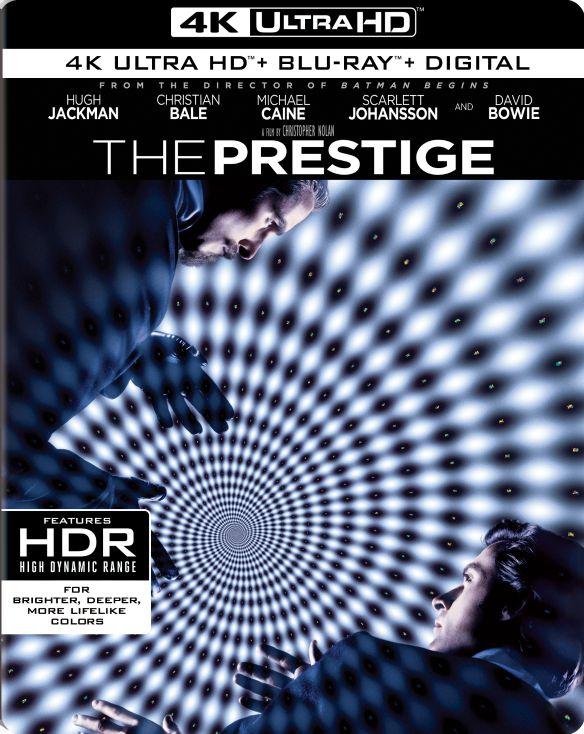 Prestige [4K Ultra HD Blu-ray/Blu-ray] [2006] 6164819