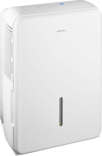 Insignia™ - 70-Pint Portable Dehumidifier - White