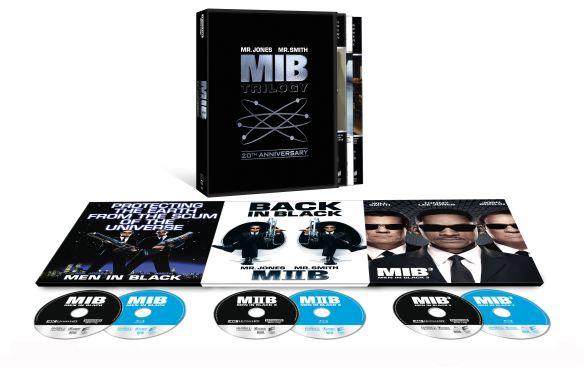 Men in Black Trilogy [20th Anniv.] [Includes Digital Copy] [UltraViolet] [4K Ultra HD Blu-ray] 6166808