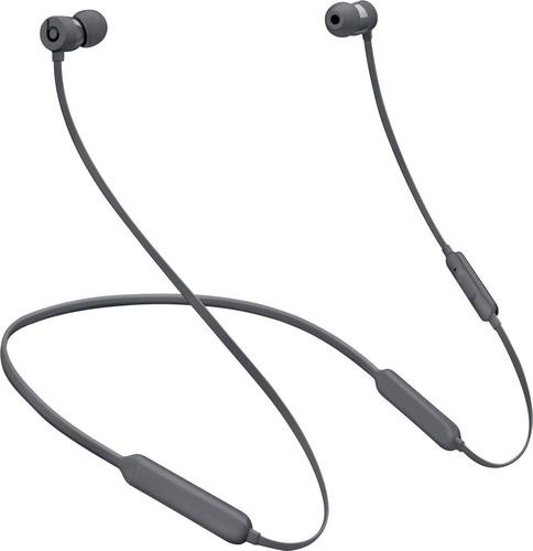 Beats by Dr. Dre - Geek Squad Certified Refurbished BeatsX Earphones - Gray
