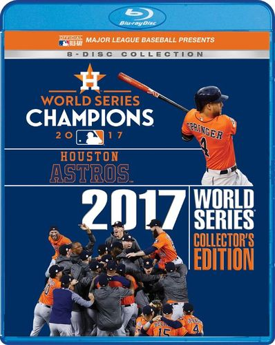 2017 World Series Champions: Houston Astros - Collector's Edition [Blu-ray] [8 Discs] [2017] 6167642