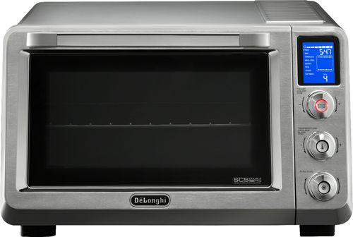 DeLonghi - Livenza 0.8 Cu. Ft. Toaster Oven - Stainless Steel 6168210