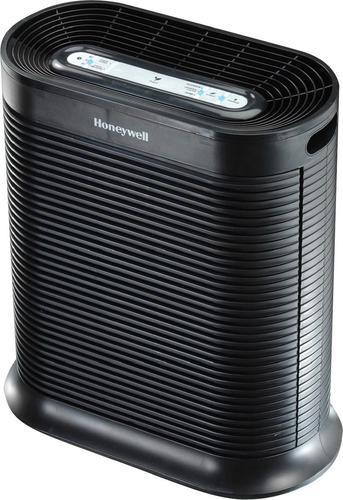 Honeywell - True HEPA Console Air Purifier - Black 6168611