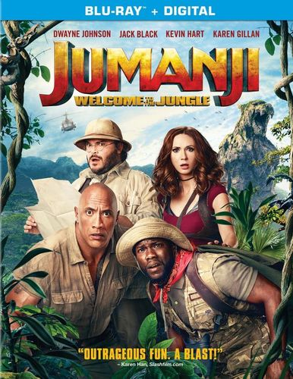 Jumanji: Welcome to the Jungle [Includes Digital Copy] [Blu-ray] [2017] 6169132