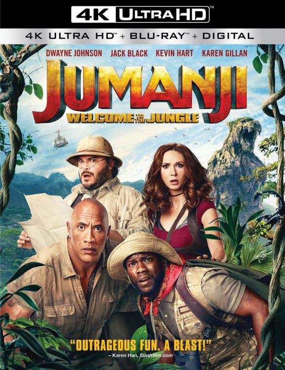 Jumanji: Welcome to the Jungle [Includes Digital Copy] [4K Ultra HD Blu-ray/Blu-ray] [2017] 6169133