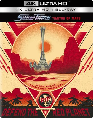 Starship Troopers: Traitor of Mars [SteelBook] [4K Ultra HD Blu-ray/Blu-ray] [2017] 6170700