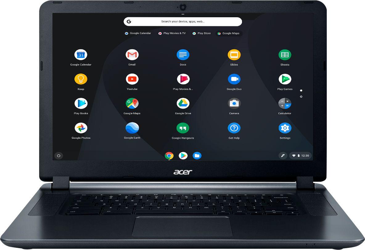 "Acer 15.6"" Chromebook Intel Celeron 4GB Memory 16GB eMMC Flash Memory Granite Gray CB3-532-C8DF"