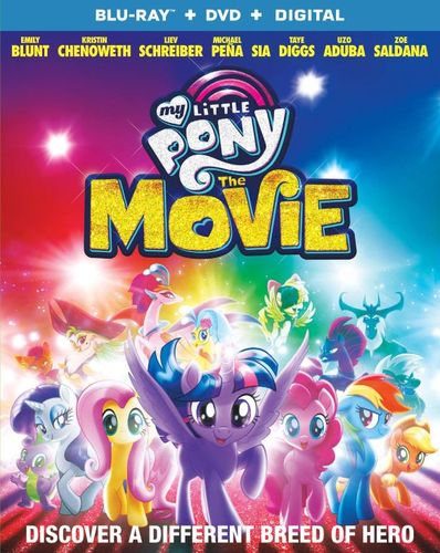 My Little Pony: The Movie [Blu-ray] [2017] 6170819
