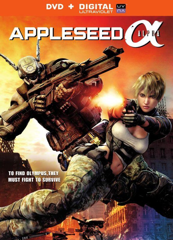 Appleseed Alpha [Includes Digital Copy] [UltraViolet] [DVD] [2014] 6171339