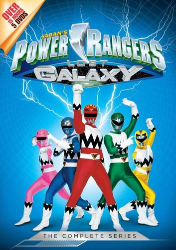 Power Rangers Lost Galaxy: The Complete Series [5 Discs] [Blu-ray] [DVD] 6171421