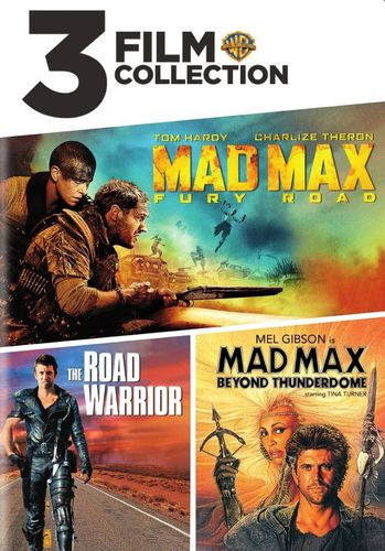 3 Film Favorites: Mad Max: Fury Road/The Road Warrior/Mad Max: Beyond Thunderdome [DVD] 6171430
