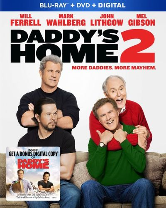 Daddy's Home 2 [Includes Digital Copy] [Blu-ray/DVD] [2017] 6171809