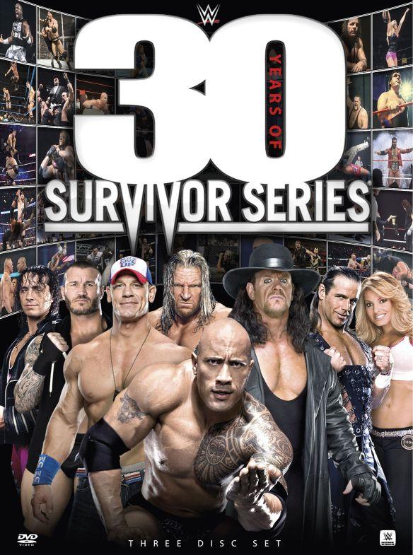 WWE: 30 Years of Survivor Series [3 Discs] [DVD] [2017] 6171921