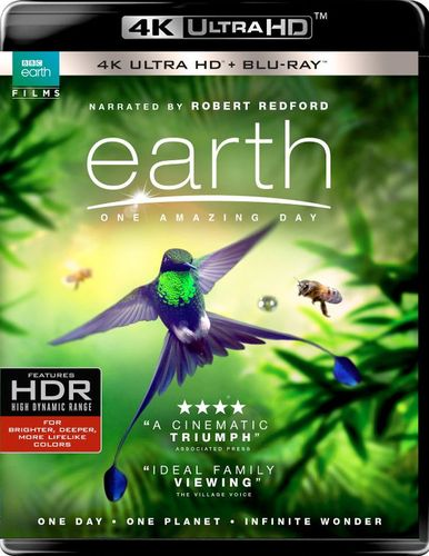Earth: One Amazing Day [4K Ultra HD Blu-ray] [2017] 6171927
