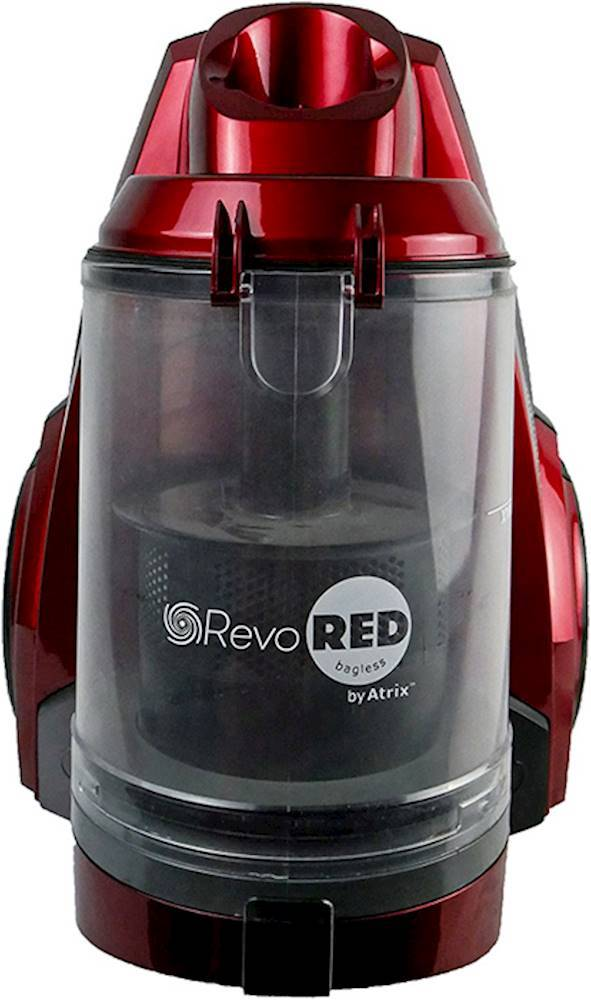 Atrix AHCRR Bagless Canister Vacuum Red
