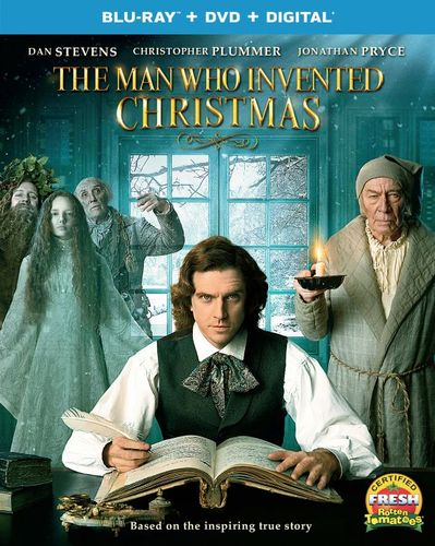 The Man Who Invented Christmas [Blu-ray] [2017] 6171996