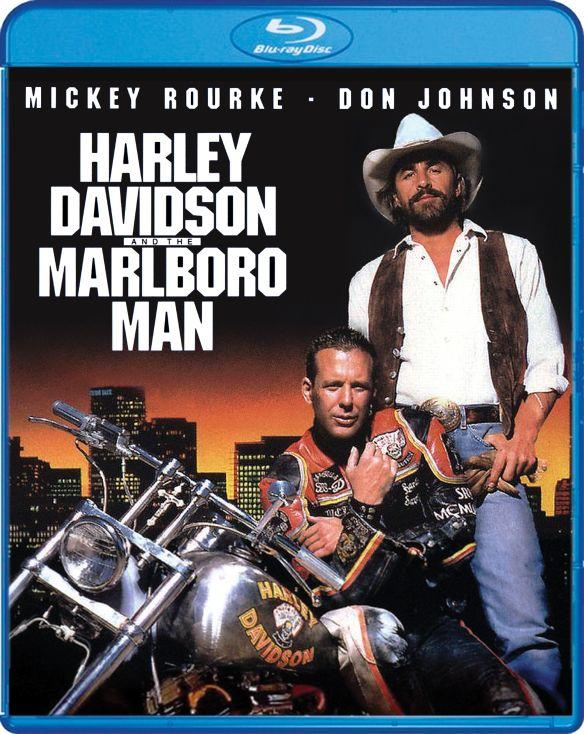 Harley Davidson and the Marlboro Man [Blu-ray] [1991] 6172007