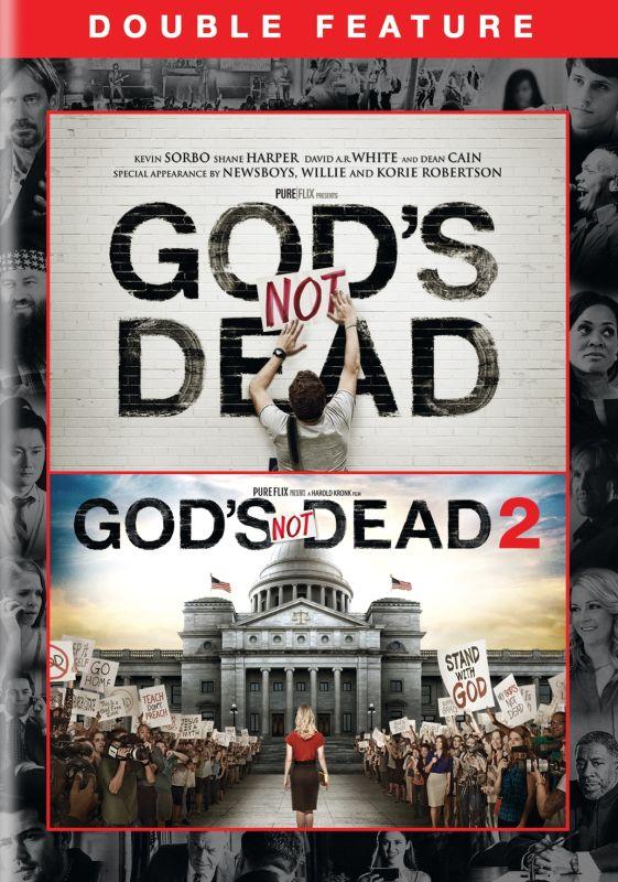 God's Not Dead/God's Not Dead 2 [DVD] 6172300