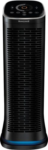 Honeywell - AirGenius 6 Smart Tower Air Purifier - Black 6172776