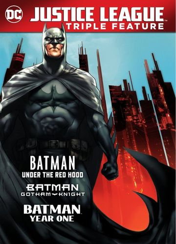 Batman Triple Feature: Under the Red Hood/Gotham Knight/Year One [3 Discs] [DVD] 6173608