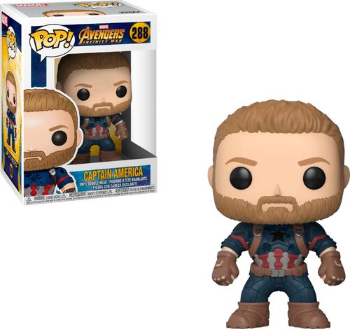 Funko POP! Marvel - Avengers Infinity War - Captain America
