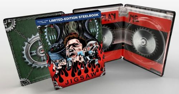 Jigsaw [SteelBook] [Includes Digital Copy] [Blu-ray/DVD] [2017] 6174901