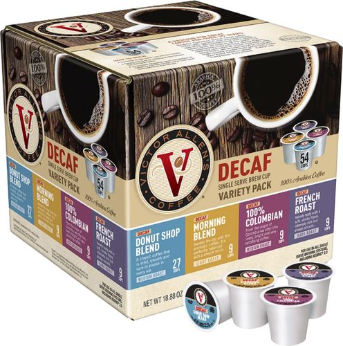 Victor Allen's - Decaf Variety Pack Coffee Pods (54-Pack)