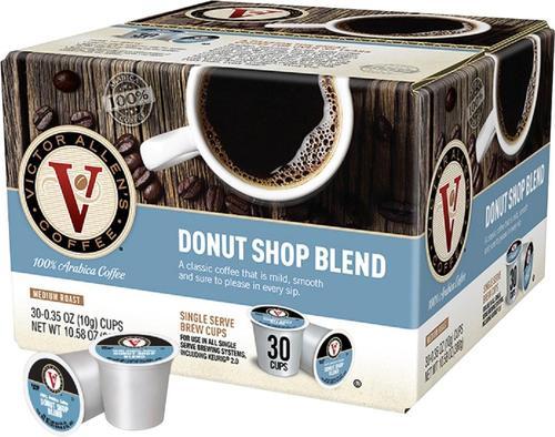 Victor Allen's - Donut Shop Blend Coffee Pods (30-Pack)