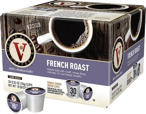 Victor Allen's - French Roast Coffee Pods (30-Pack)