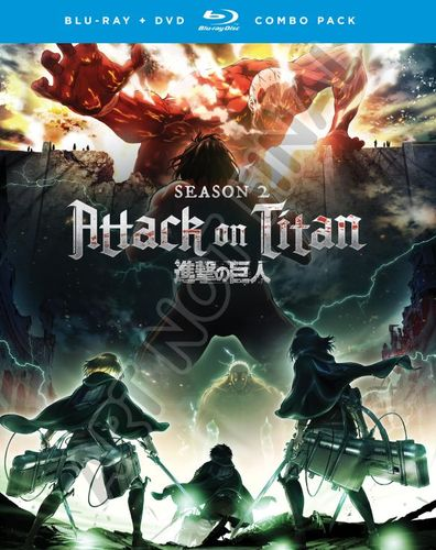 Attack on Titan: Season Two [Blu-ray] 6175108