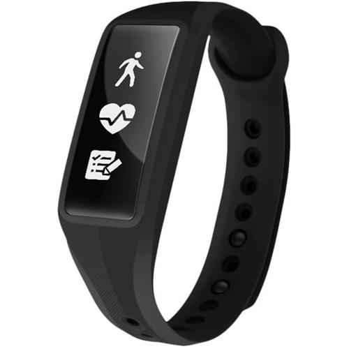 Striiv - Fusion Bio 2 Plus Activity Tracker + Heart Rate - Black