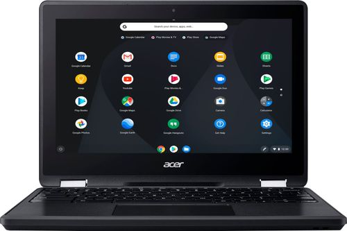 Acer Spin R751T-C4XP 11.6u0022 Touchscreen Chromebook N3350 4GB 32GB eMMC Chrome OS