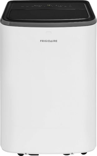 Frigidaire - 350 Sq. Ft. Portable Air Conditioner - White 350 sq. ft. cooling capacityRemote Control7.8 amps