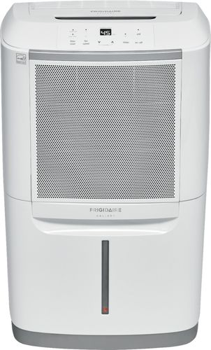 Frigidaire - Gallery 69.7-Pint Smart Dehumidifier - White Energy Star Certified7.5 ampsAuto shut-off; full bucket indicator