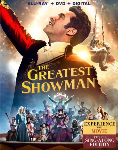 The Greatest Showman [Includes Digital Copy] [Blu-ray/DVD] [2017] 6176426