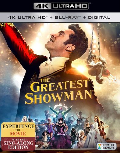 The Greatest Showman [Includes Digital Copy] [4K Ultra HD Blu-ray/Blu-ray] [2017] 6176428