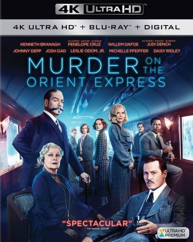 Murder on the Orient Express [4K Ultra HD Blu-ray/Blu-ray] [2017] 6176604