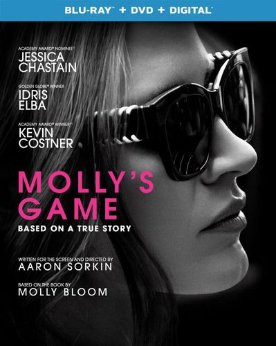 Molly's Game [Blu-ray] [2017] 6177027