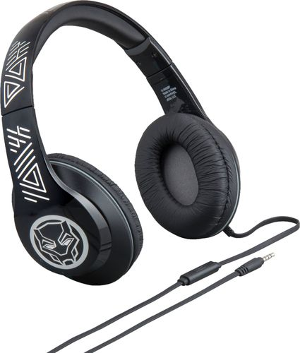e635392b798 Black Panther Over the Ear Headphones with Built in Microphone