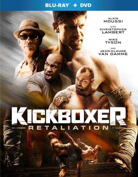 Kickboxer: Retaliation [Blu-ray/DVD] [2018] 6177806