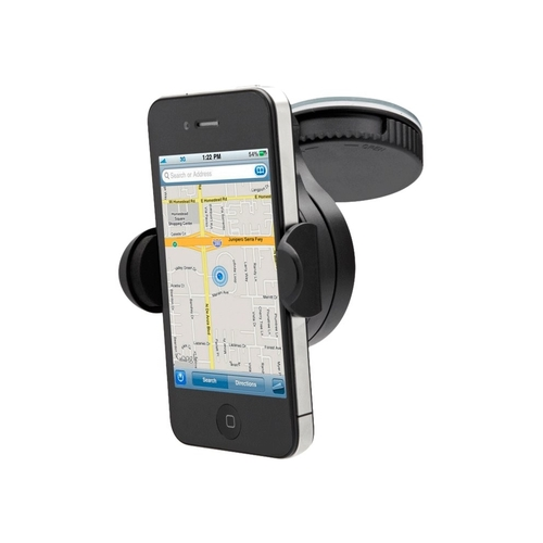 Cygnett - DashView Mini Car Holder for Mobile Phones - Black 6177845