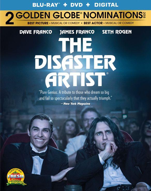 The Disaster Artist [Blu-ray/DVD] [2017] 6178116