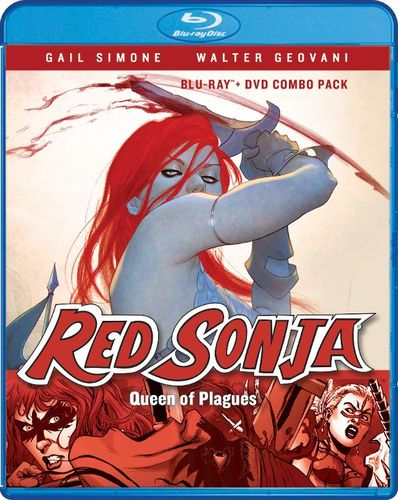 Red Sonja: Queen of Plagues [Blu-ray] [2 Discs] [2016] 6178670